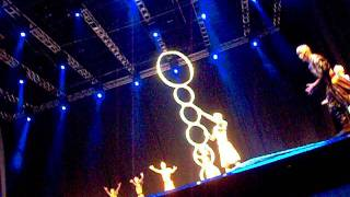 Sky Mirage II - Circo da China - Fire Hoop Diving Act Part. 3