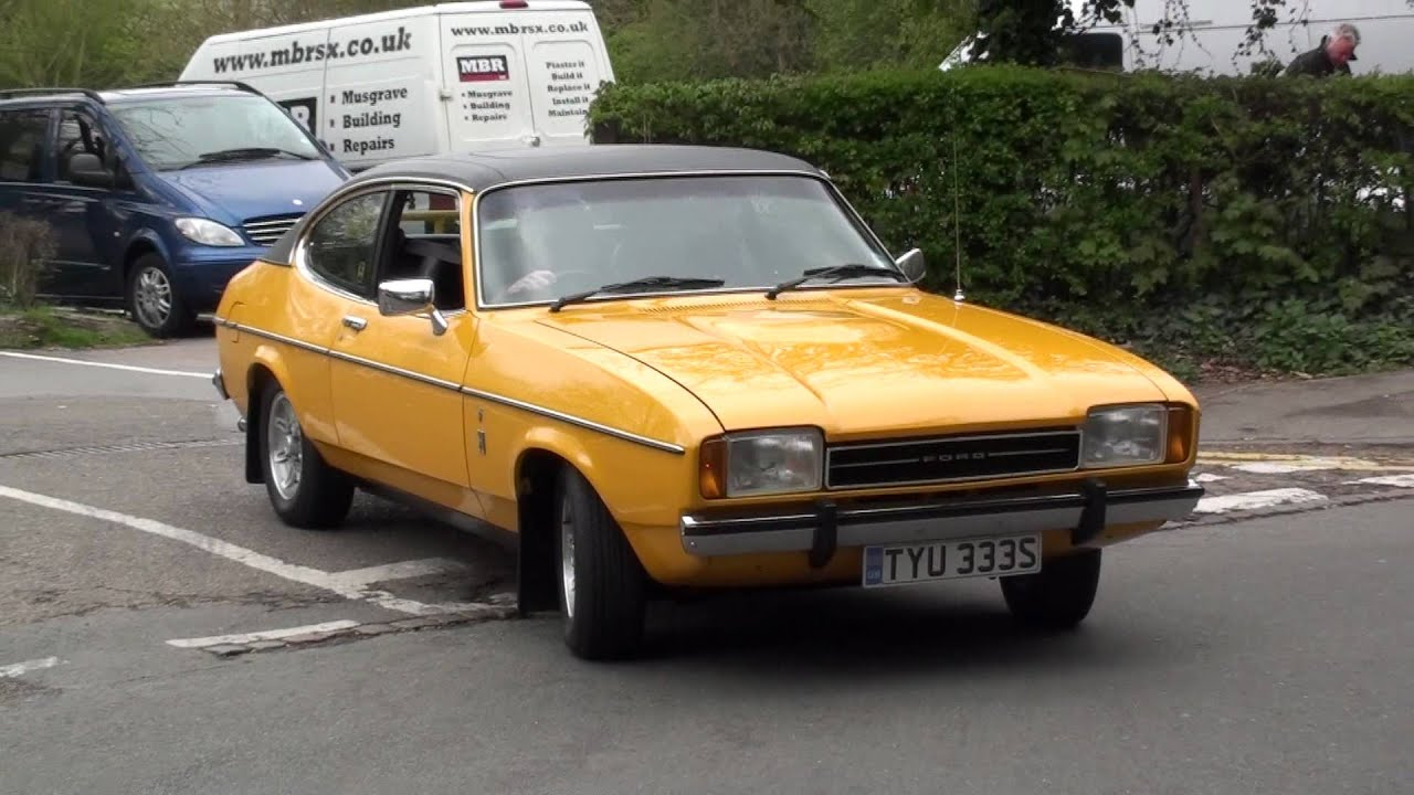ford capri mk2 leaving a car meet youtube. Black Bedroom Furniture Sets. Home Design Ideas