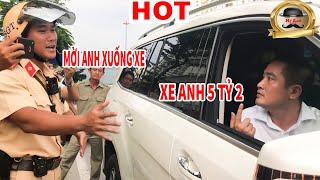 Màn Đối Thoại Cực Bá Đạo Của Chủ Xe 5 Tỷ Và CSGT │Tin Hot│