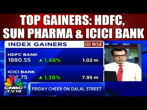 Top Gainers: HDFC, Sun Pharma & ICICI Bank | REPORTER'S DIARY | CNBC TV18