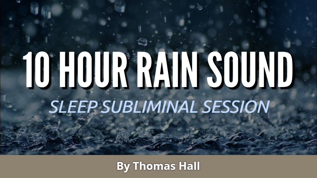 Lose Weight Fast - (10 Hour) Rain Sound - Sleep Subliminal - By Thomas Hall