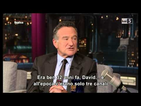 Robin Williams @ David Letterman Show 26/09/13 SUB ITA