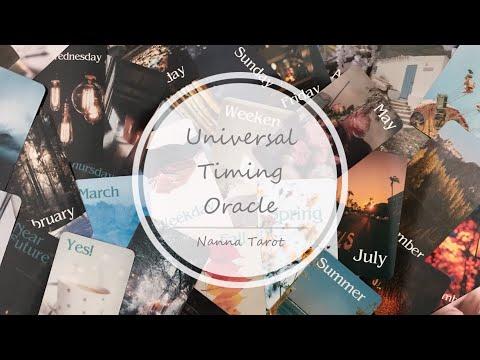 開箱  宇時俱進神諭卡 • Universal Timing Oracle // Nanna Tarot