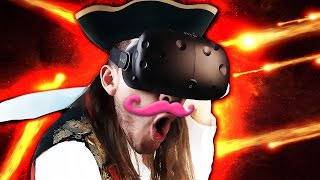 100% PRO DODGES!! | Space Pirate Trainer - VIVE