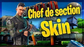 Fortnite I SKin Section Chief