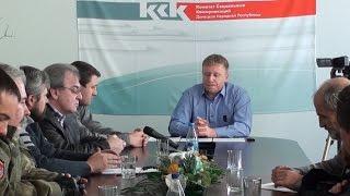 Круглый стол с представителями общественных организаций. О выборах в ДНР.