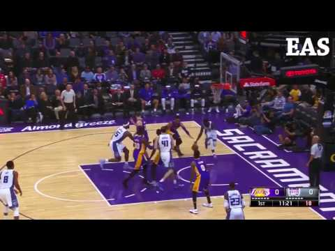 Los Angeles Lakers (92) vs (116) Sacramento Kings Scores and Highlights 12.12.2016