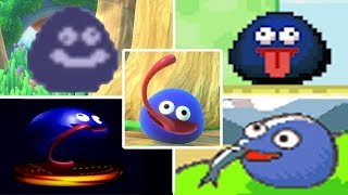 Evolution of Gooey in Kirby Games (1995 - 2018)