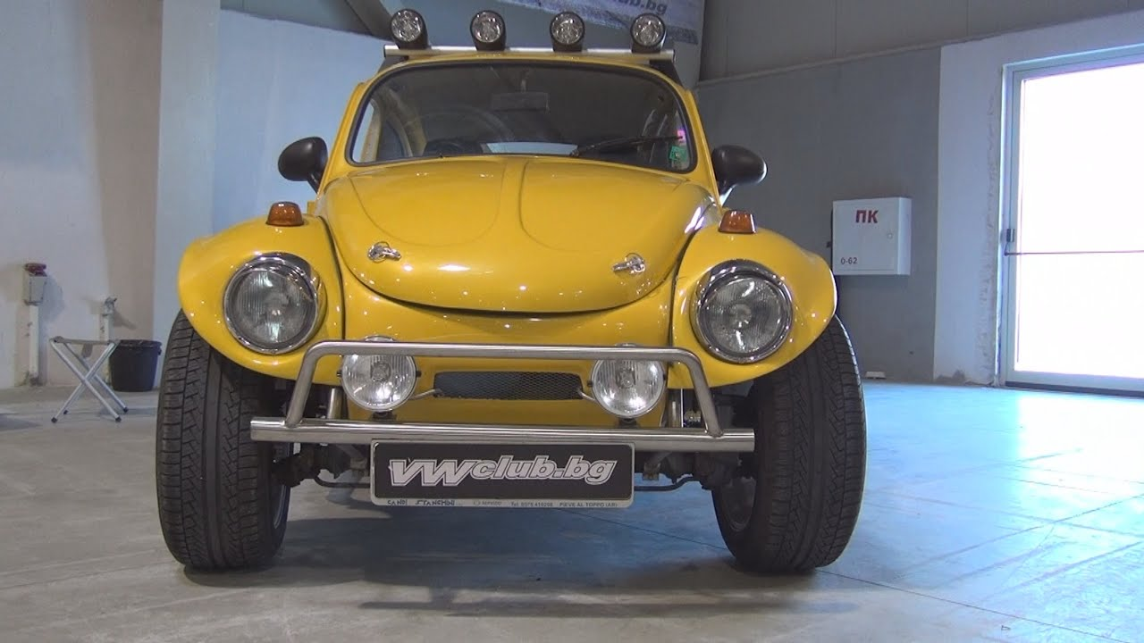 volkswagen beetle baja 1970 exterior and interior in 3d youtube. Black Bedroom Furniture Sets. Home Design Ideas