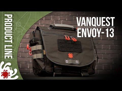 Spyderco BG01 Envoy-13 Messenger Bag video_1