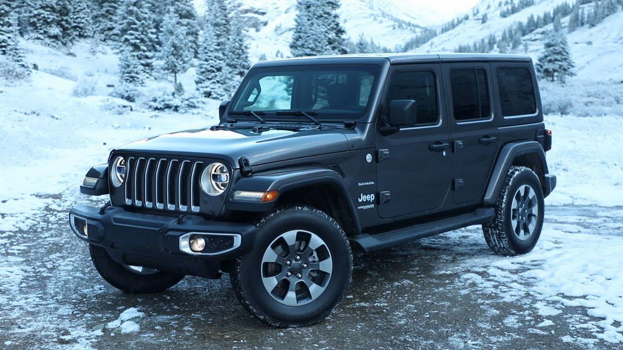 2018 jeep wrangler sahara running footage youtube. Black Bedroom Furniture Sets. Home Design Ideas