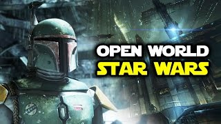 Open World Star Wars Game News: RPG System, 3rd Person, Bosses and Economy!