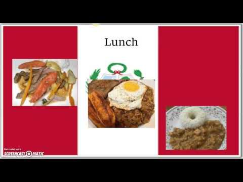 Peruvian foods culture assignment