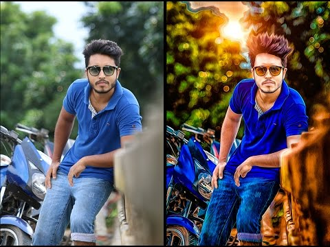 Photoshop Tutorials | Photoshop photo editing Hard Color Effect