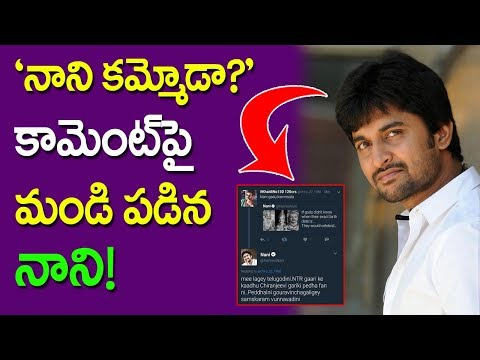 Hero Nani Reaction On Caste Comment | Tweet Nani Kammoda | Kamma | Kapu | NTR | Chiranjeevi | Taja30