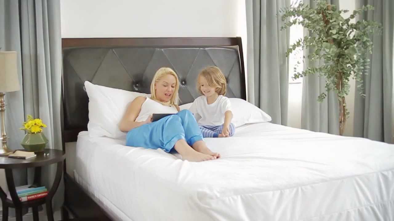 Saferest Certified Bed Bug Mattress Encasement Youtube
