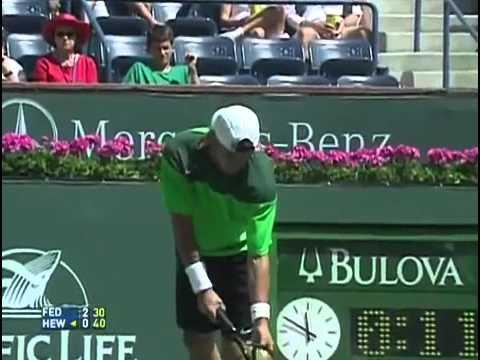 2005 Indian Wells Federer vs. Hewitt
