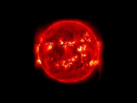 NASA ; Five-Day Solar Show - temperature of the sun 8,000 degrees Fahrenheit.(5/29/2015)