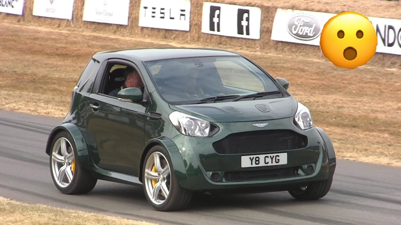 They Fit A V8 In A Aston Martin Cygnet Crazy Swap Youtube