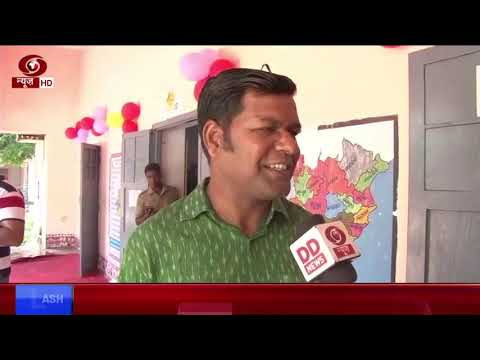 Famous sand artist Sudarsan Pattnaik speaks to DD News about Elections 2019