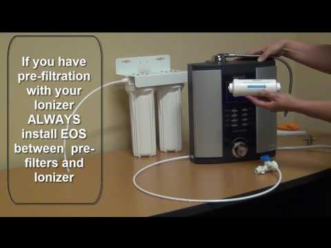 How to Install an EOS Scale Guard Inline Filter with your Water Ionizer