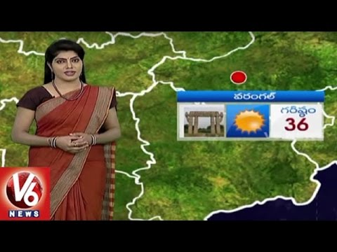 Weather Report | Temperature Levels In Telangana | Monsoon Update | V6 News