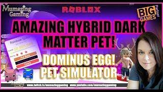 ROBLOX Amazing Dark Matter HYBRID PET in Pet Simulator!