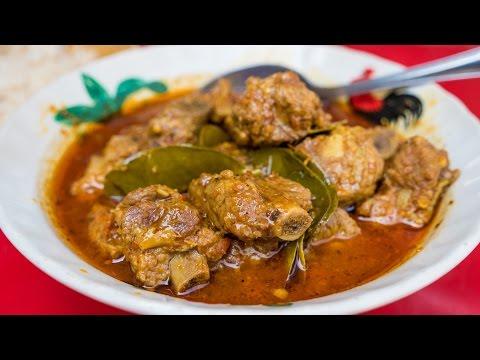Authentic Thai Recipes - How To Make Thai Chili Ribs Curry! วิธีทำ แกงคั่วพริกซี่โครงหมู