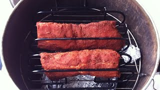 Baby Back Ribs on the Old Smokey Electric Smoker