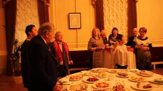 Тамара Москвина поздравляет лауреата Нобелевской премии Жореса Алферова с 85-летием
