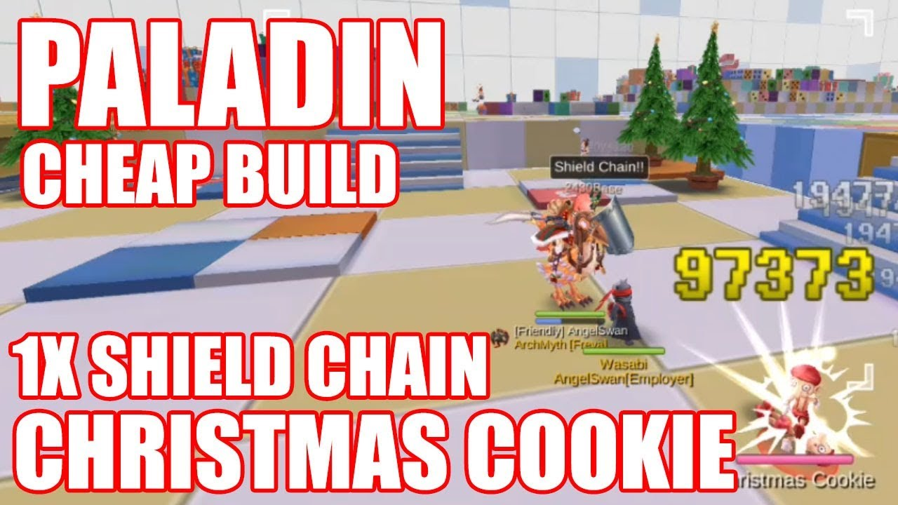 Ragnarok Mobile : Paladin 1x Shield Chain Christmas Cookie BUDGET BUILD