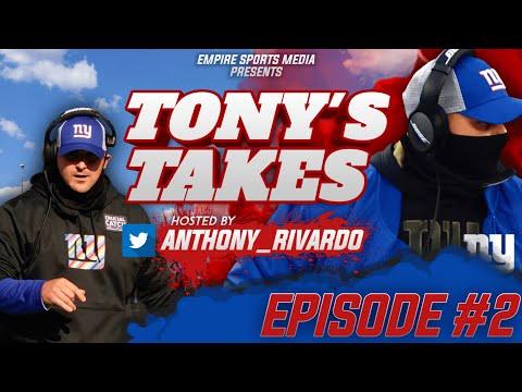 New York Giants: Kyle Rudolph is a Red-Zone Scoring Machine FILM BREAKDOWN   (TONY'S TAKES EP #2)