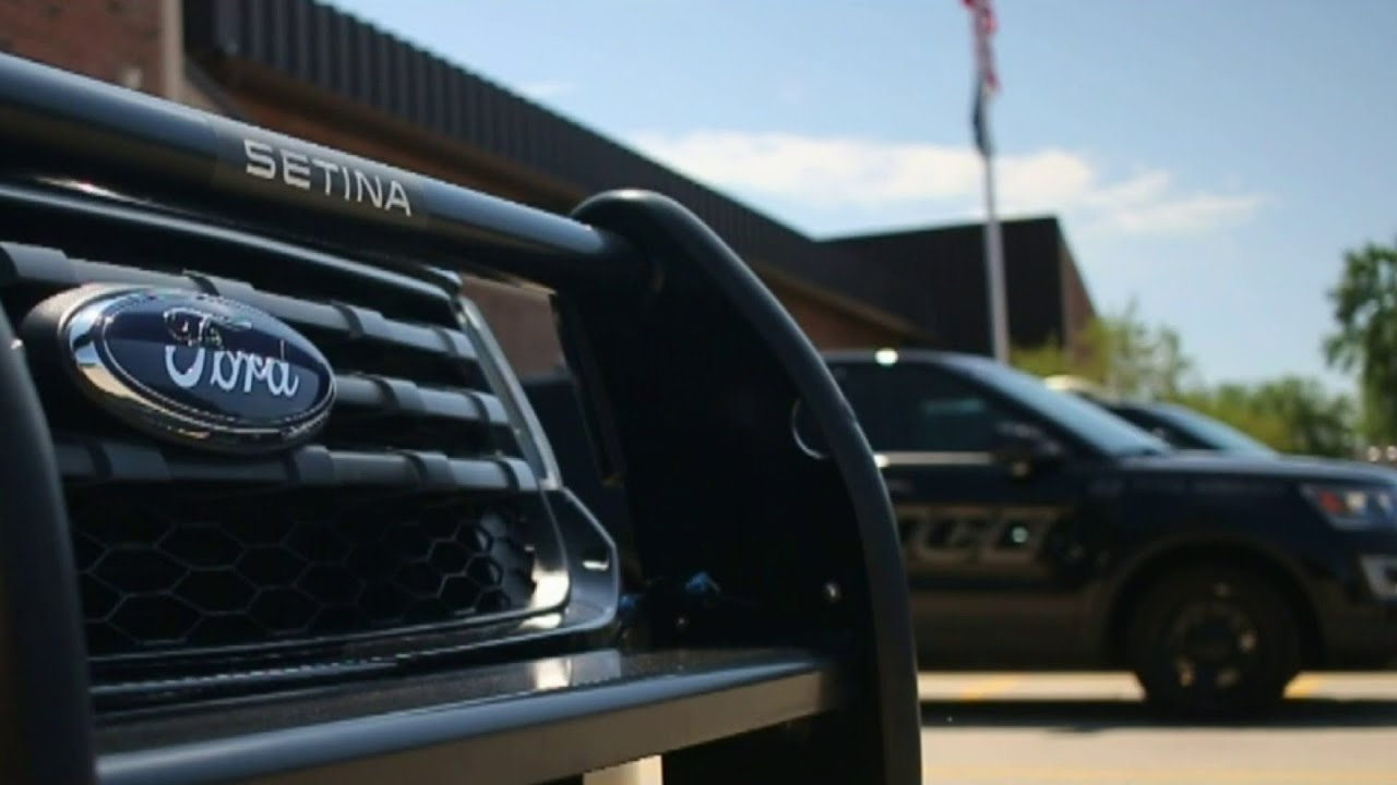 Employees call on Ford to stop building, selling police cars