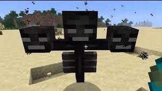 Minecraft - Cómo invocar a Wither (Para TODAS las versiones)