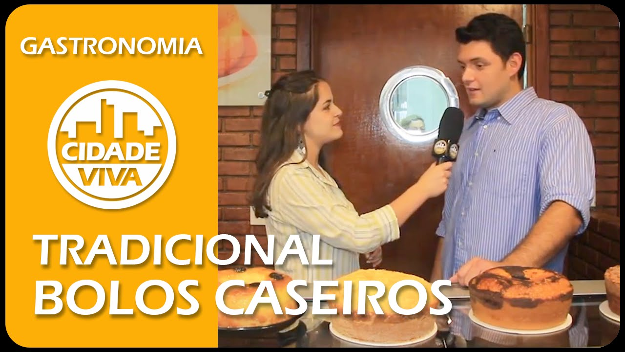 TRADICIONAL BOLOS CASEIROS - PROGRAMA CIDADE VIVA 02 10 2015 - YouTube ec7f4f18cf