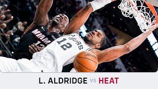 LaMarcus Aldridge's Highlights: 21 PTS, 4 REB, 3 AST, 2 BLK, 1 STL Vs Heat (19.01.2020)