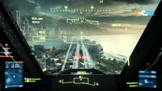 Battlefield 3 Chopper gameplay + intro (not finished editing; joystick)