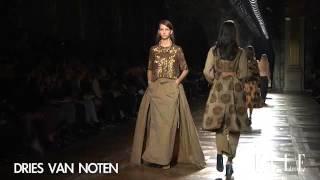 Dries Van Noten. Paris Fashion Week Nueva York. Otoño / invierno 2015-2016