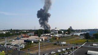 Explosion d'un silo à Strasbourg
