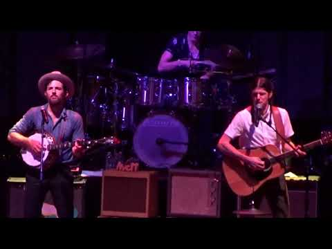 The Avett Brothers  No Hard Feelings   at DTE Energy Music Theater in Clarkston, MI on 82518