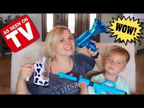 AS SEEN ON TV TOY REVIEW! (W/ OLLIE) // SoCassie