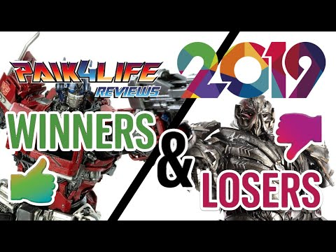 Transformers Rewind 2019: My Top 5 Winners & Losers // P4L Reviews