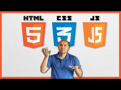 Do you need more than html, css, and javascript to get a web