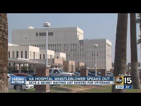 """VA whistleblower speaks out after claims Phoenix Hospital has """"secret"""" list"""