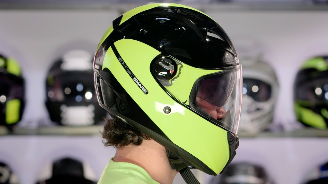 shark vision r series 2 inko helmet review at youtube. Black Bedroom Furniture Sets. Home Design Ideas