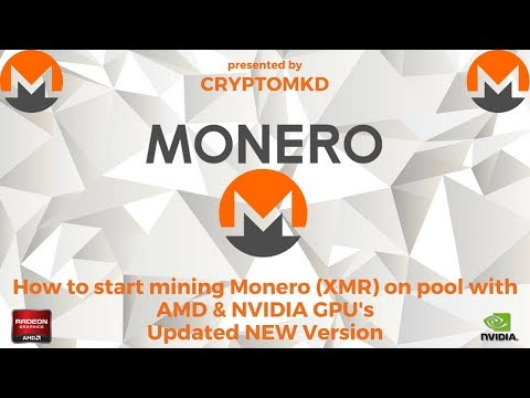 How to start mining Monero (XMR) on pool with AMD and NVIDIA GPU's Updated NEW Version