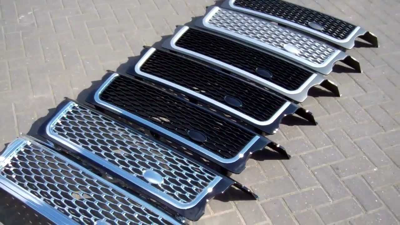 Range Rover Sport 2005 09 Conversion Grille Looks Like