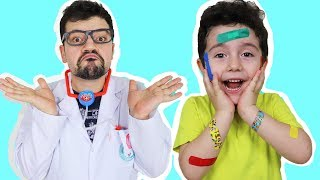 Yusuf Bugün Çok Sakar! Learn Colors with Colored Bants | Fun Kid Video