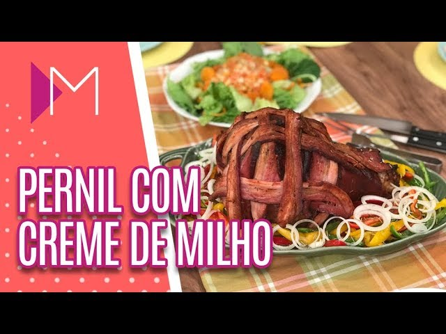 Pernil com Creme de Milho - Mulheres (21/02/19)