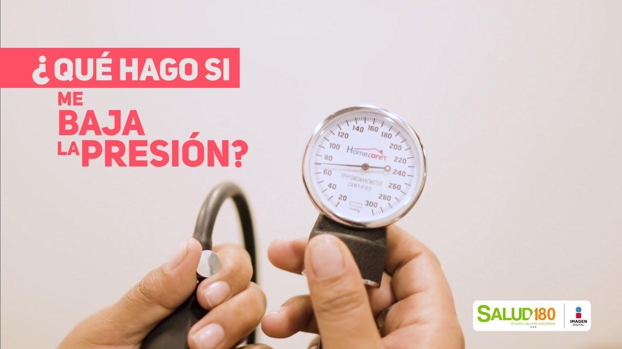 ¿Qué hago si me baja la presión? - Salud180 - YouTube